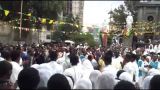 Ethiopian Orthodox Tewahedo Church Song ናና ገብርኤል ናና አዝኛለሁኛ ባንተ ልጽናና ናና ገብርኤል ናና