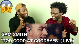 Download Lagu Sam Smith - Too Good At Goodbyes (Live From Hackney Round Chapel) (REACTION) Gratis STAFABAND