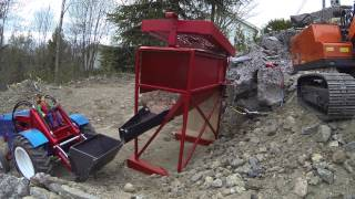 Lindeberg R/C Quarry pt 7 - New screener