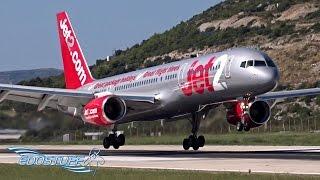 Download Lagu Jet2 - Boeing 757-21B G-LSAI - Close-up Landing at Split Airport LDSP/SPU Gratis STAFABAND