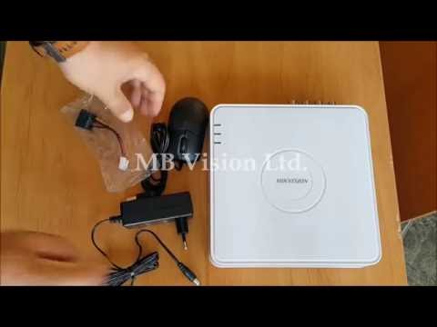 Video review and unboxing of Turbo HD DVR Hikvision DS-7108HGHI-F1