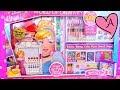 download lagu Juego GIGANTE para dibujar Princesas Disney Ariel Cenicienta Rapunzel Bella con stickers y sellos gratis
