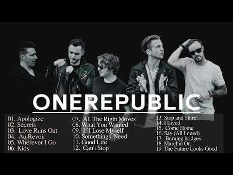 Best Songs Of Onerepublic 2018 - Onerepublic Greatest Hits Playlist