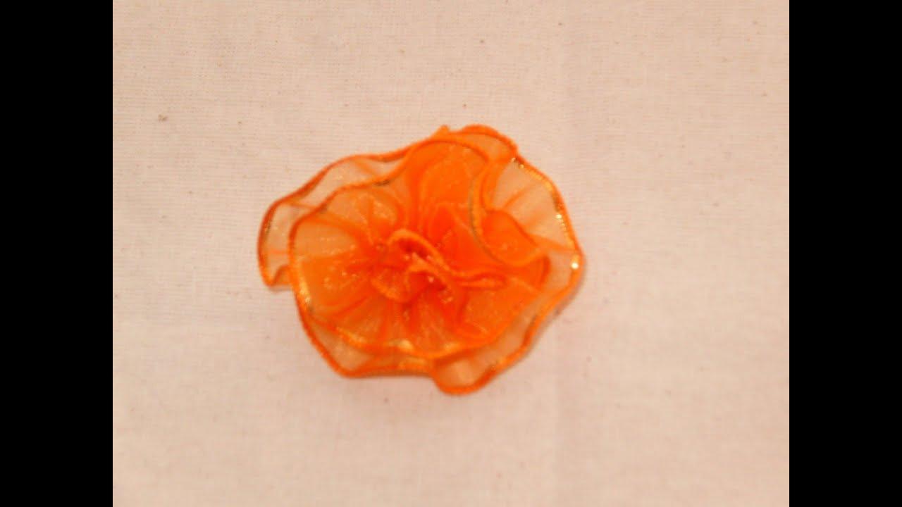 Www como hacer flores con liston paso a paso mo 241 os - Como hacer flores ...