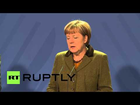 Germany: Merkel pledges support to Afghanistan after NATO withdrawal