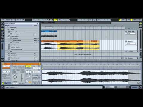 Ableton Live - Freeze and Flatten - The DSP Project