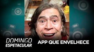 Aplicativo que envelhece rostos faz sucesso no Brasil