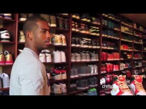 Chris Paul's Jordan Collection / Sneaker Collection