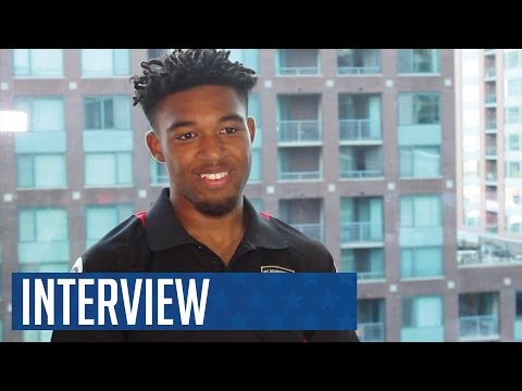 #USA16   Jordan Ibe arrives in Chicago and gives his first interview as an AFC Bournemouth player