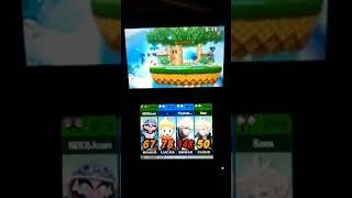 Wario & Cloud vs. Lucas & Shulk (Super Smash Bros. for 3DS)