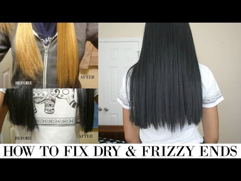 How to Fix Dry & Frizzy Ends on Synthetic Hair/Wigs    Motown Tress LXP-Lion Wig