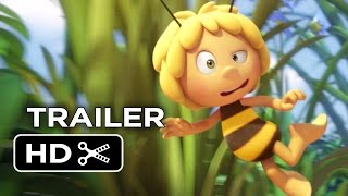 Maya the Bee Movie Official Trailer 1 (2015) - Kodi Smit-McPhee Animated Movie HD