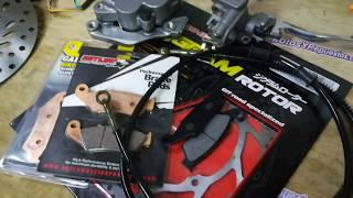 Mejorar los frenos de la moto honda xr 250