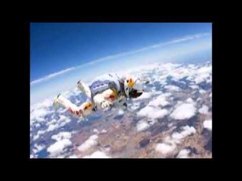 Felix Baumgartner the professional daredevil Red Bull Jump 24 miles