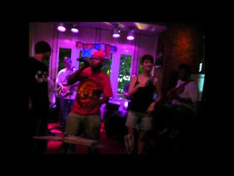 "Lil B""Nilton"" LIVE in THAILAND-Irish club pub 2011 BANGKOK city"