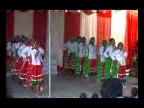 Cultural event at Happy school -15th Aug (Dance - Mera nau dandi...