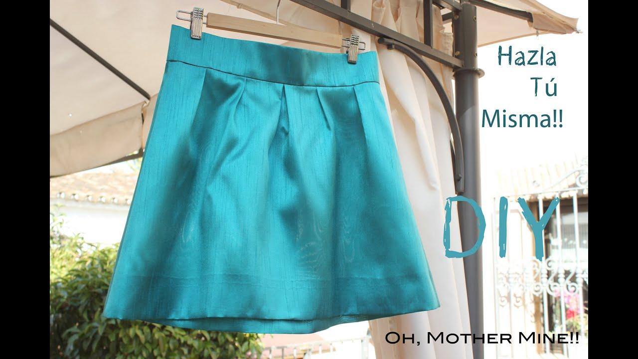 Diy como hacer y coser una falda plisada o tableada youtube for Como hacer color verde