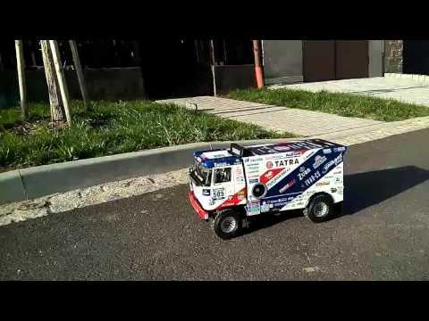 RC model TATRA BUGGYRA 2016(první test)