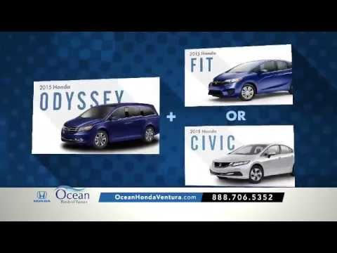 Honda Dealer Serving Ventura & Oxnard CA | Bad Credit Car Loan | Buy One Get Two Sales Event