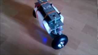 "Roberta, Balancing Robot with Raspberry Pi - 2 (Two wheel inverted pendulum, ""Segway"" )"