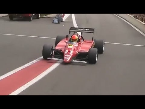 historic Ferrari Formula 1 V6 turbo sound!!!