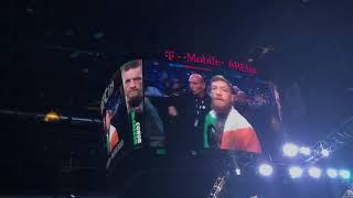 UFC 229 Mcgregor Vs Khabib walk outs and crowd reactions