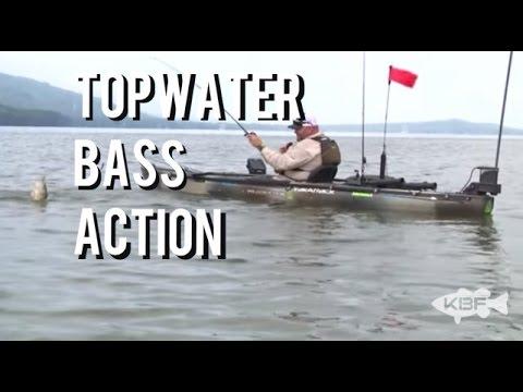 Kayak Fishing - Top Water Action on Lake Guntersville