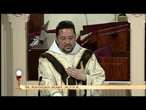 EWTN Daily Catholic Mass - 2014-6-13 - Fr. Anthony - St. Anthony of Padua