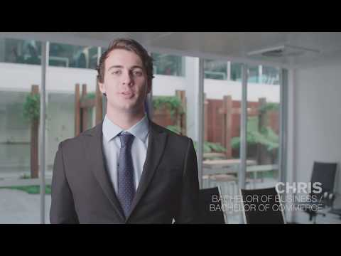 Meet Chris, a Bachelor of Business/ Bachelor of Commerce student