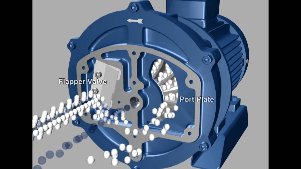 How A Liquid Ring Vacuum Pump Works