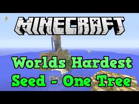 Minecraft Xbox 360 + PS3: HARDEST Seed (TU19 Survival Island Seed)