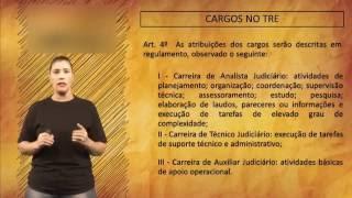 Dicas para o concurso do TRE - Cargos
