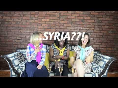 Three Girls, One Couch - Sex, Success, and Syria!