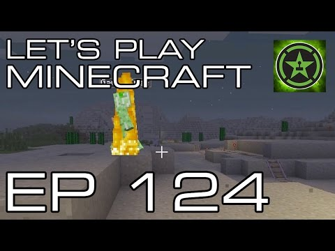 Let's Play Minecraft - Episode 124 - On A Rail 2 Part 2