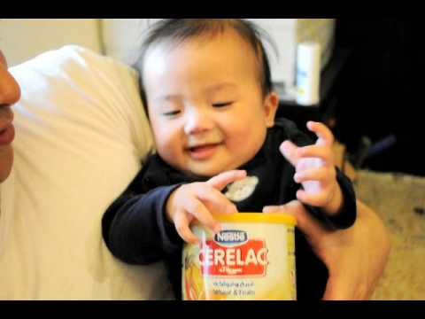Funniest Baby  (boom!! Boom!! Boom!! Cerelac Effect:) video