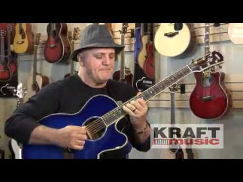 Kraft Music - Yamaha CPX900 Performance with Frank Gambale
