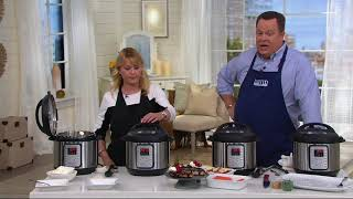 How to Use the Instant Pot 6-qt Viva 9-in-1 Digital Pressure Cooker | QVC
