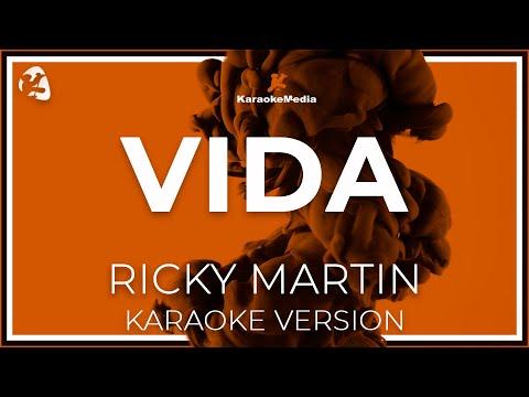Ricky Martin - Vida (spanish) (Karaoke)