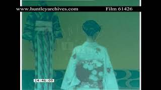 Boca Juniors Football Bus in Japan in 1982 Archive film 61426