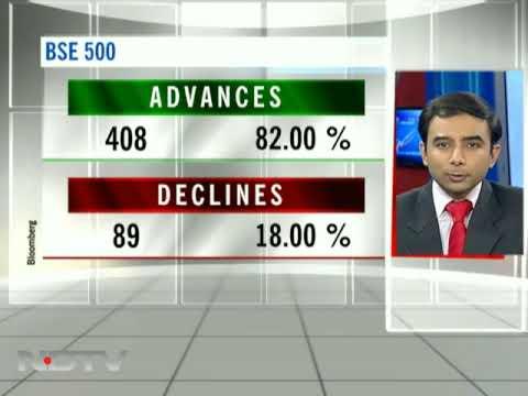 Sensex gains 340 pts; banks, RIL lead rally