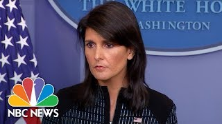 Download White House Press Briefing - September 15, 2017 | NBC News 3Gp Mp4