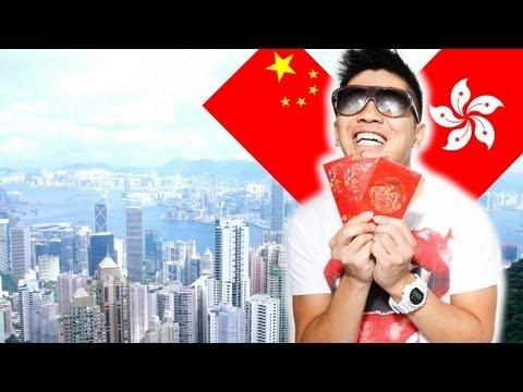 Chinese Guy Visits Hong Kong