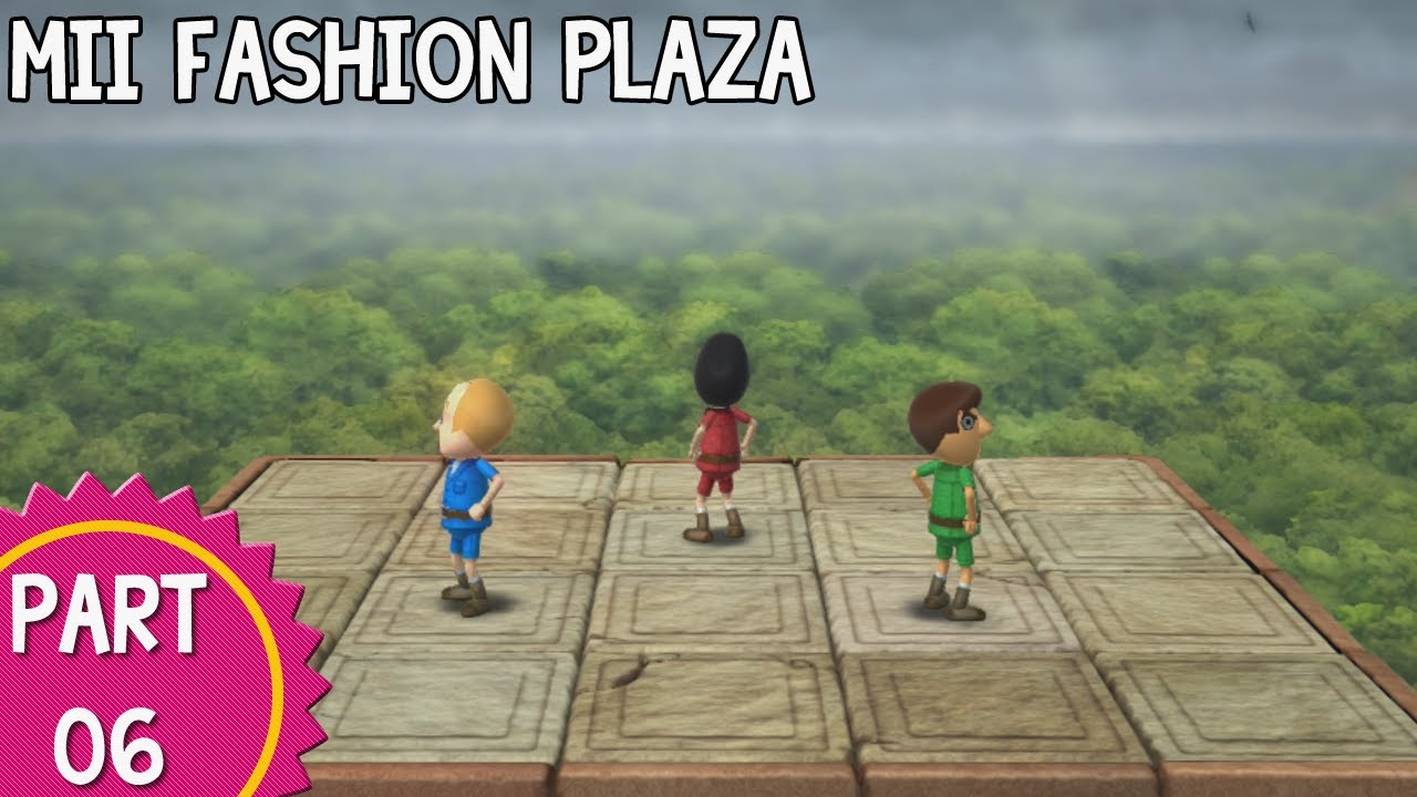 Mii Fashion Plaza Wii Party U Wii Party U Episode Mii