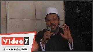 بالفيديو.. خطيب مسجد الاستقامة للمصليين: «تبرعوا ولو بجنيه عشان مصر»