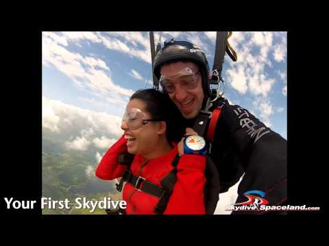 Your First Skydive! Skydive Spaceland in Houston, Texas