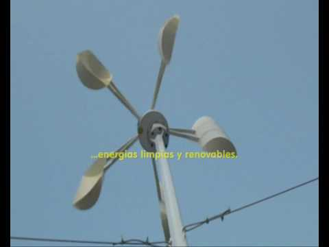 Aerogenerador Vertical Ico-GE 500W - VAWT Vertical Axis Wind Turbine 500W