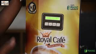 Royal Cafe:How to set up Royal QSDC coffee vending machine?