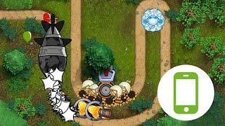 Bloons Monkey City Mobile - Hook Map - City Level 20 on BMC