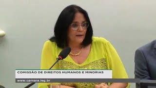 Direitos Humanos e Minorias - Presença da ministra Damares Regina Alves - 10/04/2019 - 14:23
