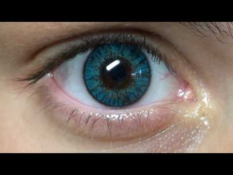 Freshlook Colorblends Turquoise Panos YouTube